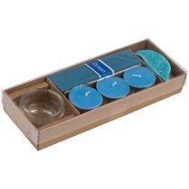 Set de aromaterápia personalizado azul