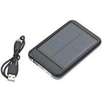 Powerbank solar personalizado negro