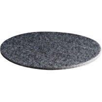 Juego de 4 posavasos fabricados en fieltro personalizado gris
