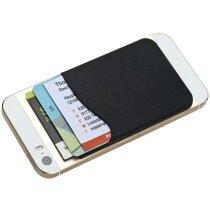 Bolsillo adhesivo para smartphone negro