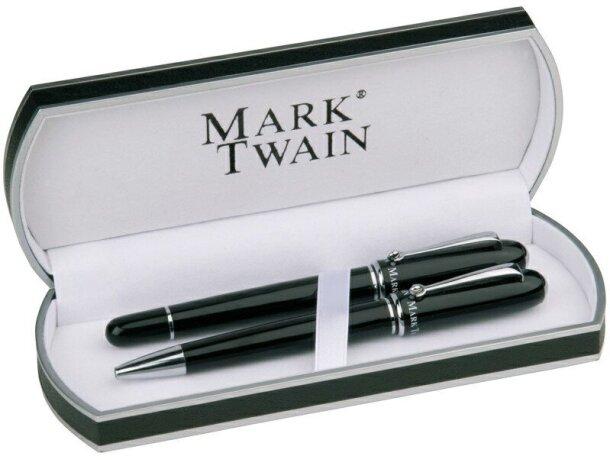 Set de escritura de la marca Mark Twain