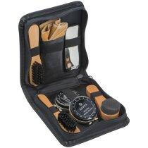 Set limpia calzado 7 piezas personalizado negro