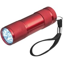 Linterna de aluminio de 9 luces led