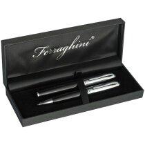 Set de escritura de la marca Ferraghini personalizado negro
