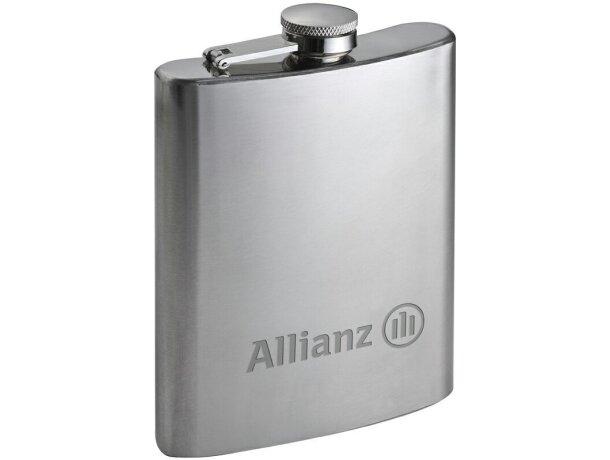 Licorera de metal personalizada plata