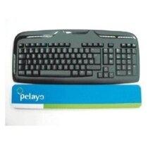 Alfombrilla reposamuñecas para el teclado personalizada