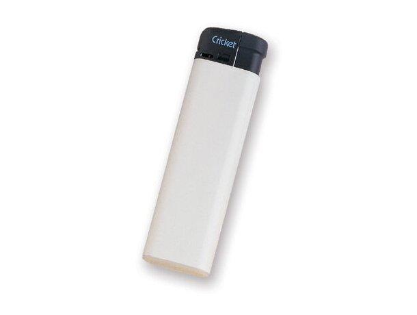 Encendedor Cricket personalizado blanco
