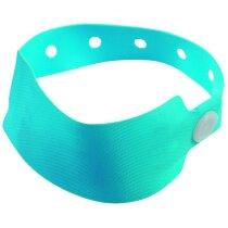 Pulsera de seguridad de colores personalizada azul claro