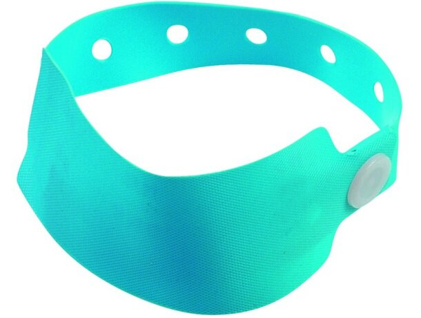 c13d7a90b15f Pulsera de seguridad de colores personalizada azul claro