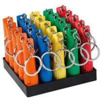 Llavero linterna en colores grabado