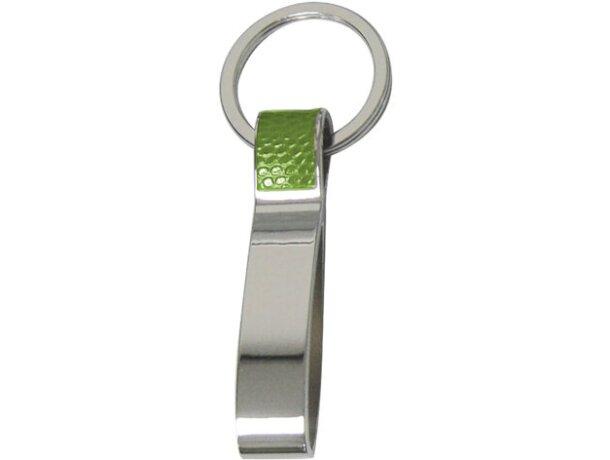 Llavero de colores con metal cromado personalizado
