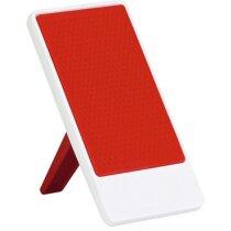 Soporte para móvil con toallita limpiadora personalizado