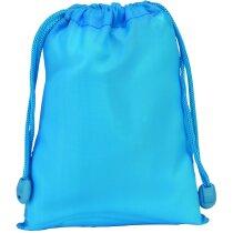 Bolsa Poliester pequeña personalizada azul