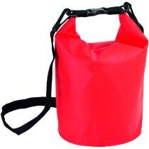 Petate bolsa hermética personalizado rojo