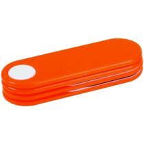 Set de 2 limasde uñas personalizado naranja