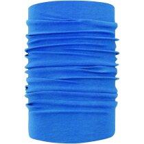Bufanda tubular de colores personalizada azul
