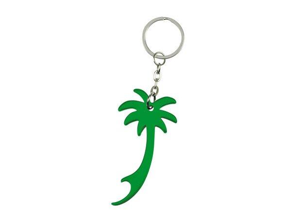 Llavero abridor palmeras personalizado