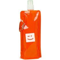 Botella plegable con mosquetón para empresas
