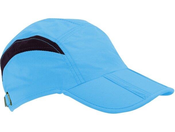 Gorra especial plegable en colores personalizada azul