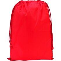 Bolsa Poliester grande personalizada roja