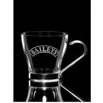 Tazas de cristal de café para grabar a láser personalizada