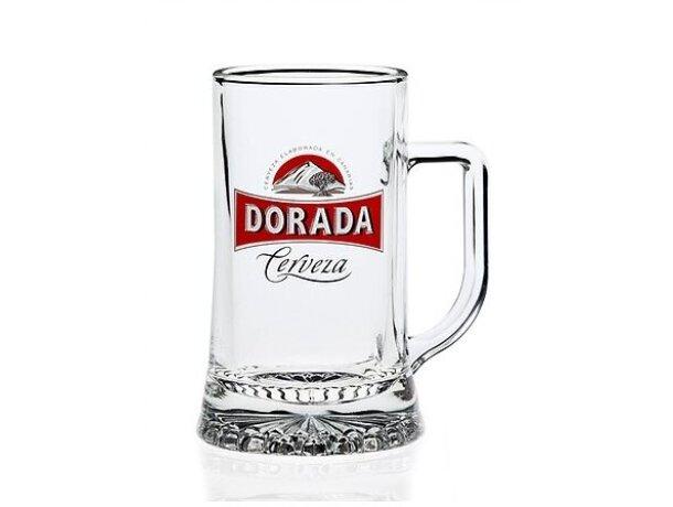 Jarras de cerveza de cristal 33 cl personalizada
