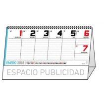 Calendario de  sobremesa con 27 hojas de notas baratos
