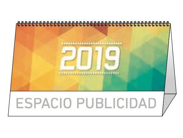 Calendario de sobremesa 13 hojas mensual notas personalizada