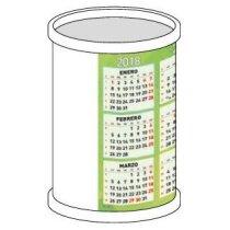 Calendario cubilete redondo personalizado