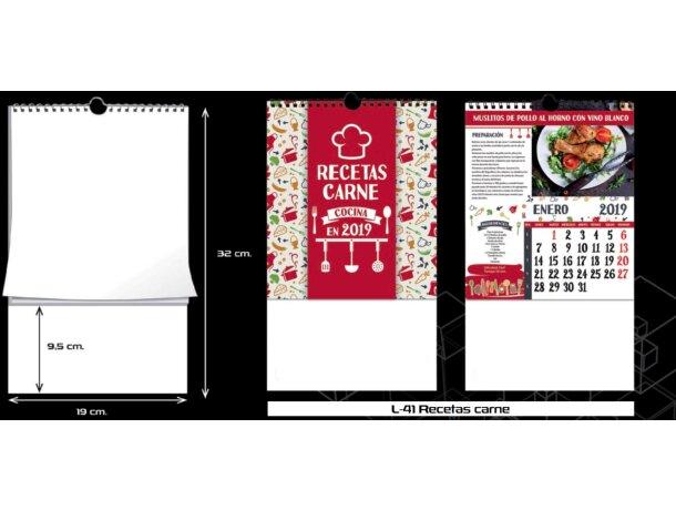 Calendario de cocina con wireo barato