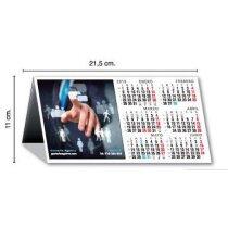 Calendario de mesa personalizado semestral a todo color con foto