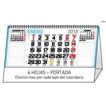 Calendario de sobremesa mensual notas mesa personalizados