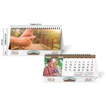 Calendario de sobremesa estándar 13 hojas