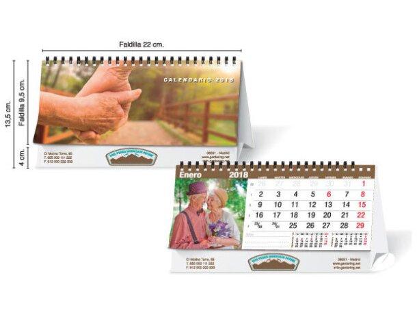 Calendario de sobremesa con fotos personalizadas 13 hojas economico