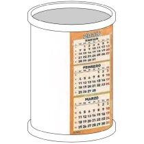 Calendario De Sobremesa Con Forma De Cubilite Redondo Automontable personalizados