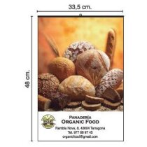 Calendario de pared con foto con faldilla mensual 33.5x48 cm personalizado