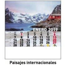Calendario Personalizado Cd Pequeños paisaje