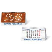Calendario de sobremesa con 13 hojas y notas