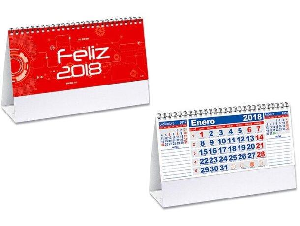 Calendario mensual notas de sobremesa barata