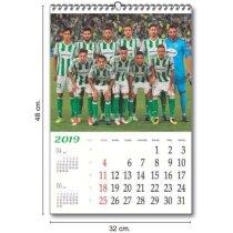 Calendarios De Pared Trimestrales 150 Grs 5 Hojas