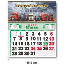 Calendarios Baratos De Pared Cartela Couché