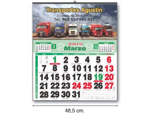 Calendarios Baratos De Pared Cartela Couché personalizados