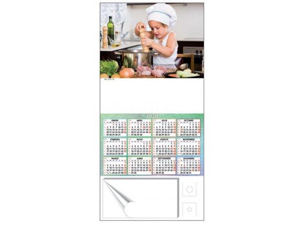 Calendario De Cocina Para Nevera Con Imán Motivos Estantar bartos