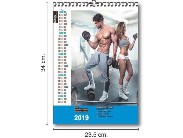 Calendarios De Pared Mensuales Personalizados 7 Hojas con foto