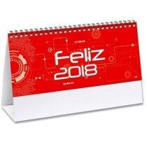 Calendario mensual notas de sobremesa personalizados