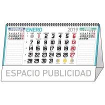 Calendario de sobremesa 13 hojas mensual notas personalizados