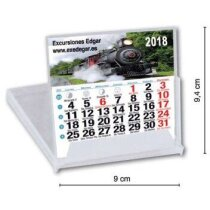 Calendario sobremesa CD mini personalizados
