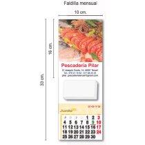 Calendario De Cocina Para Nevera Con Imán personalizados