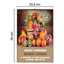 Calendario de pared con lámina mensual 23.5x34 cm personalizados