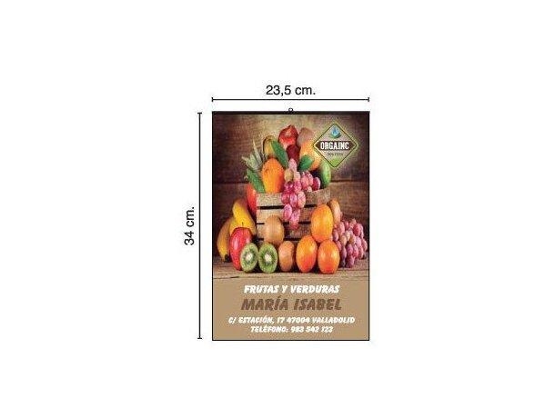 Calendario de pared con lámina y faldilla mensual 23.5x34 cm